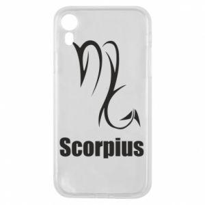 Etui na iPhone XR Symbol Skorpiona