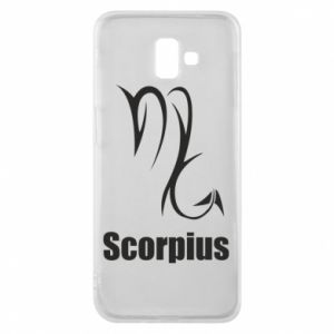 Etui na Samsung J6 Plus 2018 Symbol Skorpiona