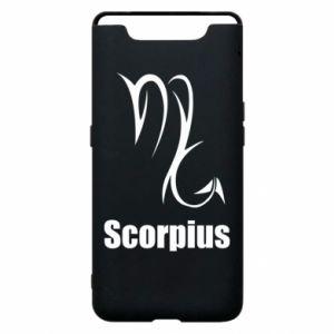 Etui na Samsung A80 Symbol Skorpiona