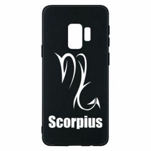 Etui na Samsung S9 Symbol Skorpiona