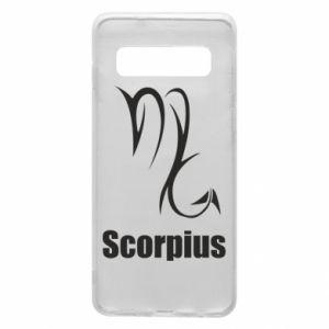 Etui na Samsung S10 Symbol Skorpiona