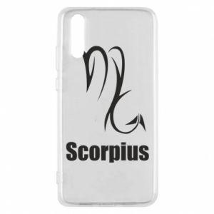 Etui na Huawei P20 Symbol Skorpiona