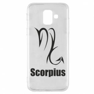 Etui na Samsung A6 2018 Symbol Skorpiona