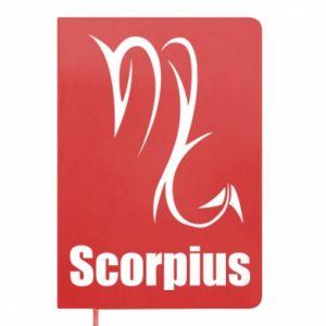 Notepad Scorpio Symbol