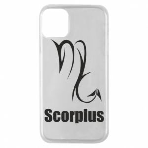 Etui na iPhone 11 Pro Symbol Skorpiona