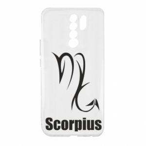 Xiaomi Redmi 9 Case Scorpio Symbol