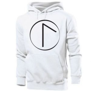 Men's hoodie Symbol of spring, love, honesty and beauty