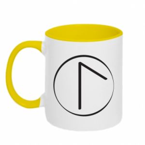 Two-toned mug Symbol of spring, love, honesty and beauty