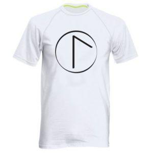 Koszulka sportowa męska Symbol wiosny, miłości, szczerości i piękna