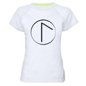 Koszulka sportowa damska Symbol wiosny, miłości, szczerości i piękna