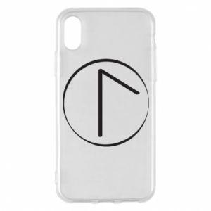 Etui na iPhone X/Xs Symbol wiosny, miłości, szczerości i piękna