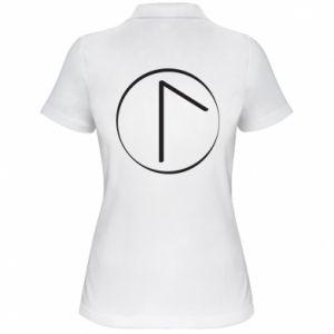 Koszulka polo damska Symbol wiosny, miłości, szczerości i piękna