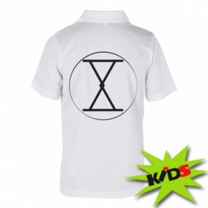 Koszulka polo dziecięca Symbol zbiorów i płodności