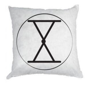 Poduszka Symbol zbiorów i płodności