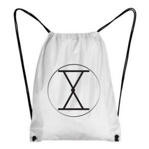 Plecak-worek Symbol zbiorów i płodności