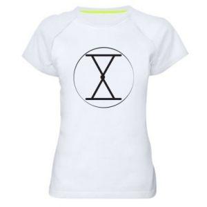 Koszulka sportowa damska Symbol zbiorów i płodności