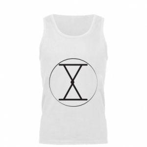 Męska koszulka Symbol zbiorów i płodności