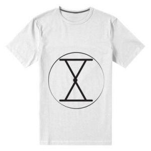 Męska premium koszulka Symbol zbiorów i płodności