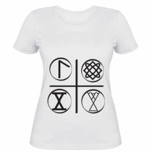 Damska koszulka Symbole