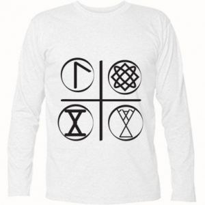 Koszulka z długim rękawem Symbole