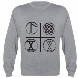Bluza (raglan) Symbole