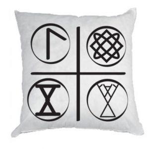 Poduszka Symbole