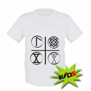 Dziecięcy T-shirt Symbole