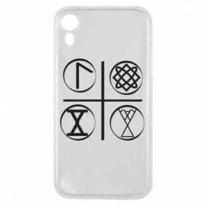 Etui na iPhone XR Symbole