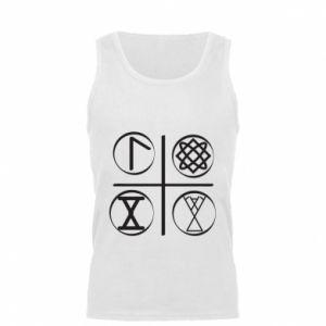 Męska koszulka Symbole