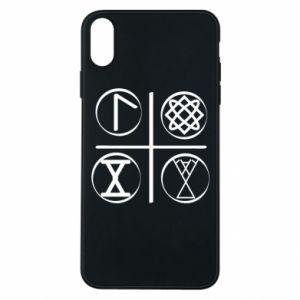 Etui na iPhone Xs Max Symbole