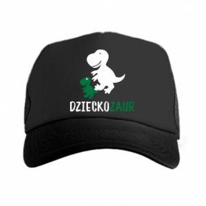 Trucker hat Son dinosaur