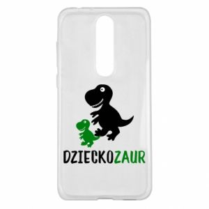 Nokia 5.1 Plus Case Son dinosaur
