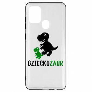 Samsung A21s Case Son dinosaur