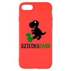 iPhone SE 2020 Case Son dinosaur