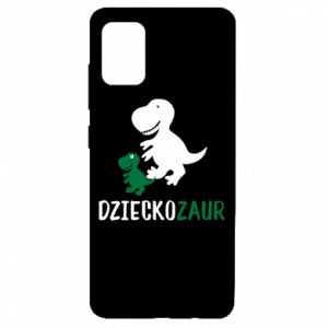 Samsung A51 Case Son dinosaur