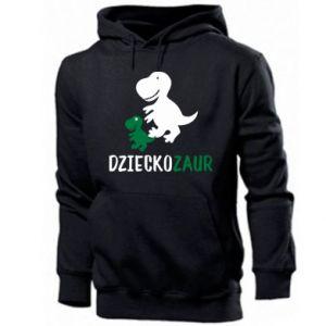 Men's hoodie Son dinosaur
