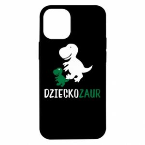 iPhone 12 Mini Case Son dinosaur