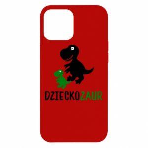 iPhone 12 Pro Max Case Son dinosaur