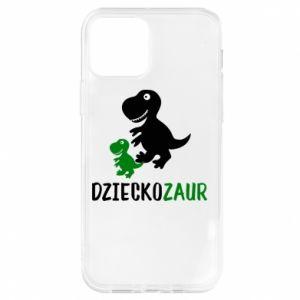 iPhone 12/12 Pro Case Son dinosaur