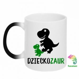 Magic mugs Son dinosaur
