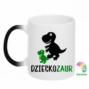 Kubek-kameleon Syn dinozaur