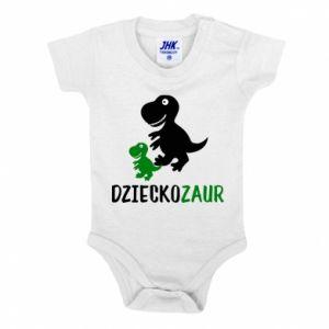 Baby bodysuit Son dinosaur
