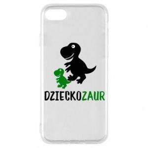 iPhone 8 Case Son dinosaur