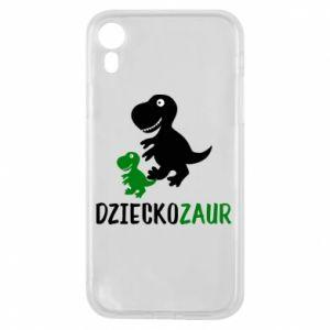 iPhone XR Case Son dinosaur