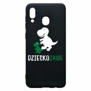 Samsung A20 Case Son dinosaur