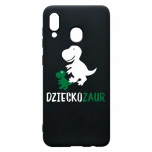 Samsung A30 Case Son dinosaur