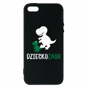 iPhone 5/5S/SE Case Son dinosaur