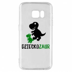 Samsung S7 Case Son dinosaur