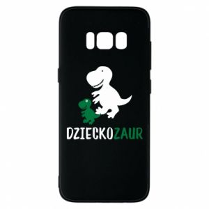 Samsung S8 Case Son dinosaur
