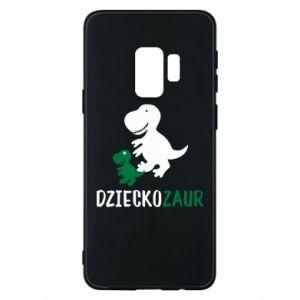 Samsung S9 Case Son dinosaur
